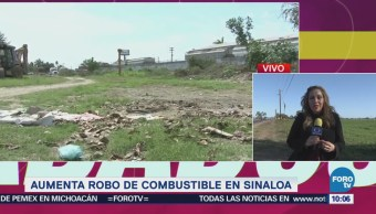 Aumenta Robo Combustible Sinaloa