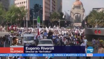 Aumenta la cifra de manifestaciones en la CDMX