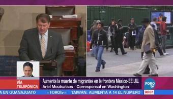 Aumenta Muerte Migrantes Frontera México-Eu