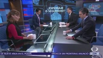 Aurelio Nuño, Damián Zepeda y Tatiana Clouthier en Despierta con Loret