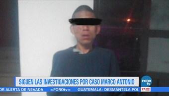 Autoridades Edomex Continúan Analizando Grabaciones Caso Marco Antonio Sánchez