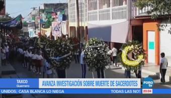 Avanza investigación sobre muerte de sacerdotes en Guerrero