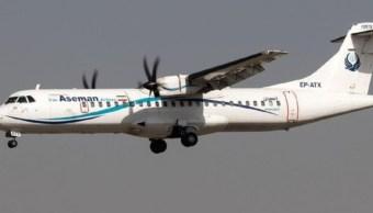 se estrella avion 66 personas iran