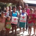 cruz roja lleva ayuda humanitaria comunidades afectadas sismo oaxaca