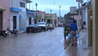 Prevén lluvias en gran parte de Campeche para estas próximas 24 horas