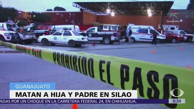 Balean a familia en Silao, Guanajuato; mueren el padre y una bebé