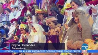 Capitalinos conserva tradición de vestidos de Niño Dios