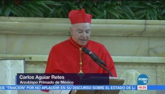 Cardenal Carlos Aguiar Retes Asume Arquidiócesis Primada México