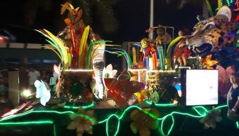 Termina el Carnaval de Campeche 2018