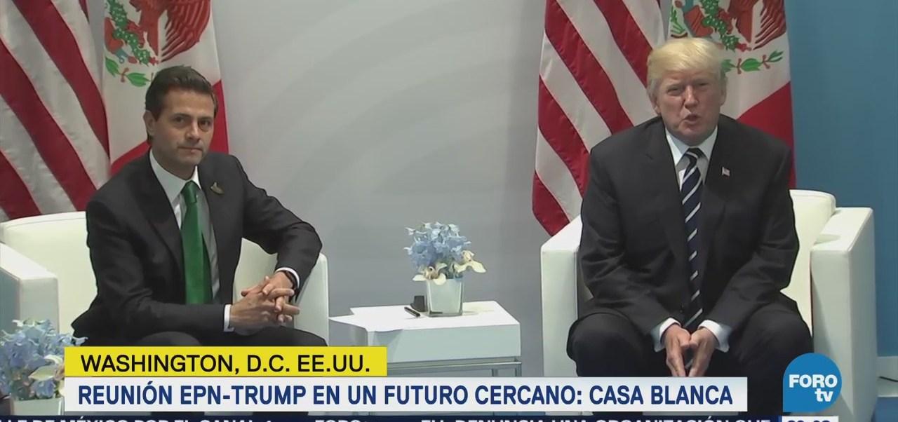 Casa Blanca confirma que busca reunión Trump-Peña Nieto