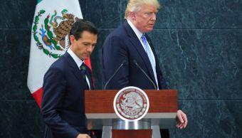 Casa Blanca confirma que busca México reunión Trump EPN