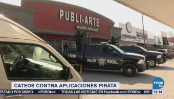 Cateos Contra Aplicaciones Pirata