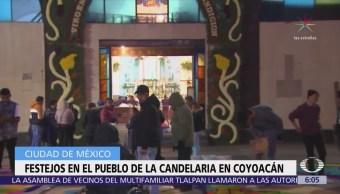 Celebran la candelaria en Coyoacán, CDMX