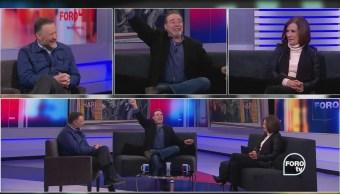 César Évora platica de: 'Tiempos modernos'