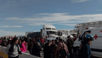 Choque múltiple en la carretera Silao-San Felipe deja 25 lesionados