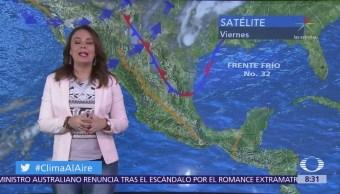 Clima Al Aire: Prevén posible lluvia en el Valle de México