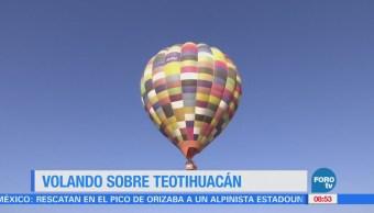Cómo volar sobre Teotihuacán