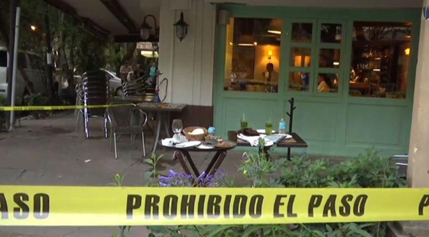 Intento de asalto termina en balacera en restaurante de la colonia Condesa