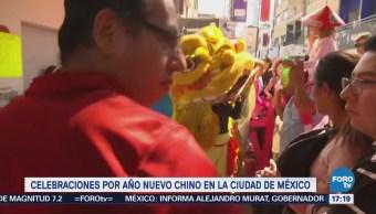 Continúan Celebraciones Año Nuevo Barrio Chino Cdmx
