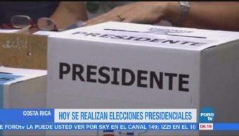 Costa Rica elegirá nuevo presidente entre 13 candidatos disponibles