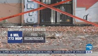 Damnificados piden transparentar recursos del fondo de reconstrucción