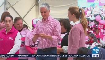 Del Mazo arranca programa 'Familias Fuertes: Salario Rosa'
