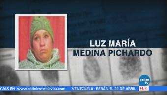 Desaparece tía de 'Calcetitas rojas' niña asesinada padres