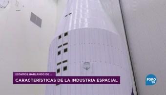 Desarrollo de la industria espacial mexicana