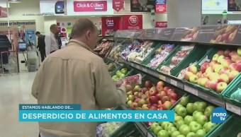 Desperdicio de alimentos en los hogares mexicanos