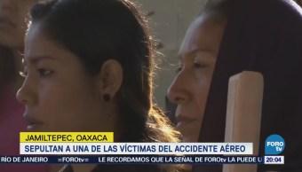 Despiden Víctimas Accidente Helicóptero Jamiltepec