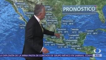 Despierta con Tiempo: Posible caída de nieve en el noroeste de México