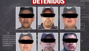 detienen 5 policias valle bravo desaparicion forzada