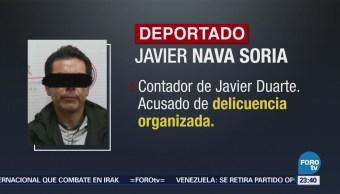 Detienen a Javier Nava, tras arribar a México