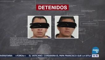 Detienen a narcomenudistas de 'Los Rojos' en Morelos