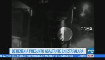 Detienen Presunto Asaltante Iztapalapa