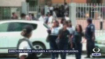 Directora Escuela Coahuila Cobra Cuota Alumnos