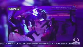 DJ Steve Aoki realiza fiesta con gravedad cero