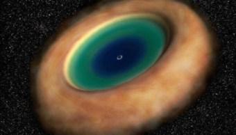 """Captan agujero negro con forma de """"dona espacial gigante"""""""