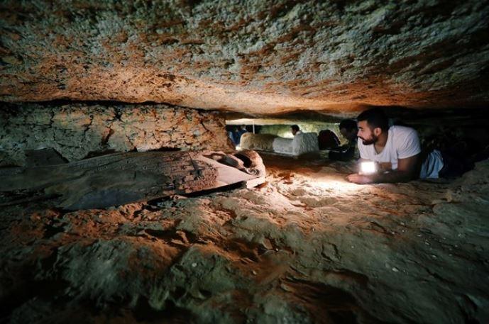descubren antigua necropolis egipto ministerio antigüedades