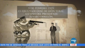 Día Ejecutado José León Toral