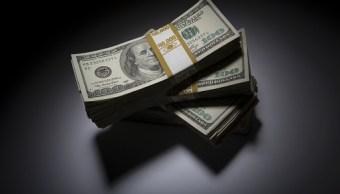 El dólar abre en 18.85 pesos a la venta