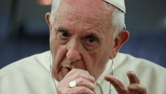El papa Francisco durante un mensaje. (Reuters, archivo)