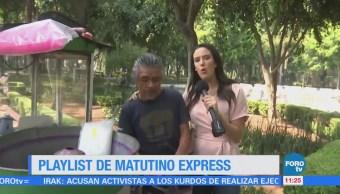Playlist Semana Matutino Express Ximena Cervantes