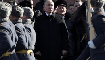 Putin elogia la valentía de los militares rusos en Siria