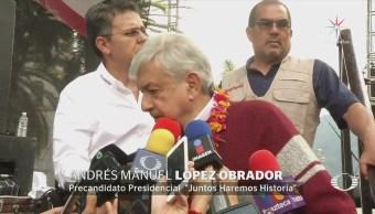 En elecciones 'los mexicanos vamos a decidir', asegura AMLO
