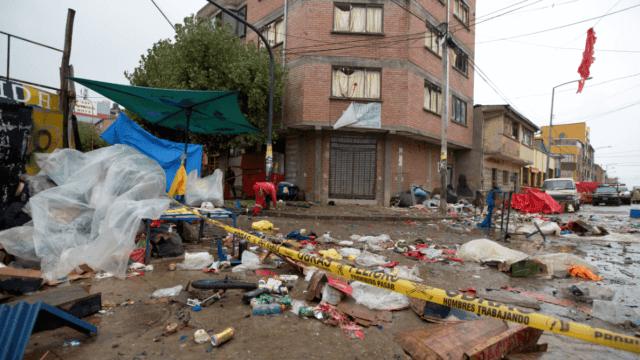 Explosión en Oruro, Bolivia. (AP, archivo)