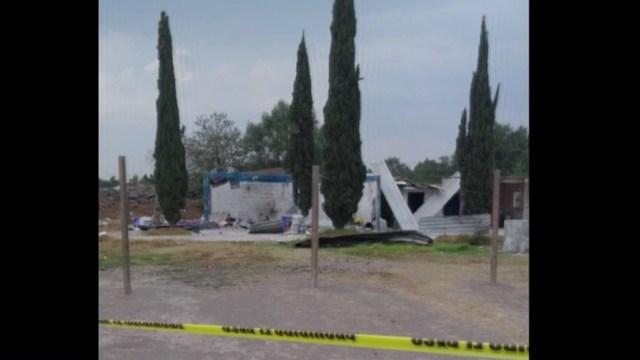 Explota polvorín en Tultepec, Edomex; hay dos muertos