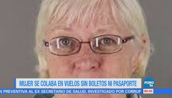 Extra Extra: Mujer se colaba en vuelos sin boletos ni pasaporte