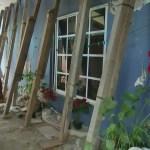Familias pernoctan en la calle por miedo a réplicas del sismo