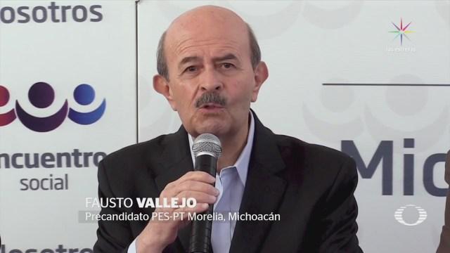 Fausto Vallejo busca la presidencia municipal de Morelia